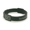 Black & Silver Ion Band