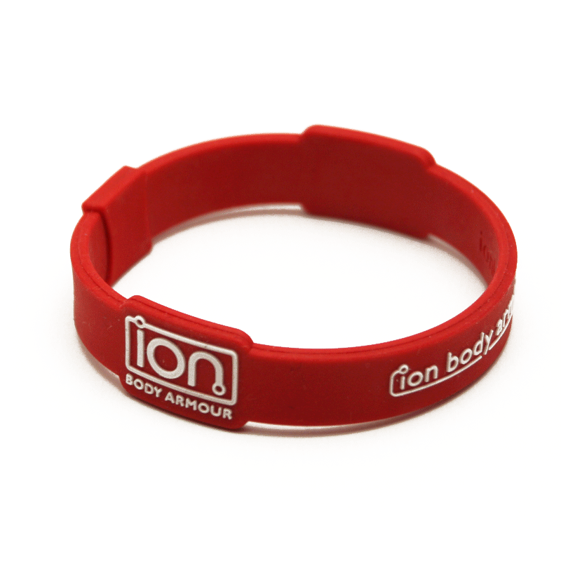 Red & White ION Band - Stock number - ION Bands | ION Body